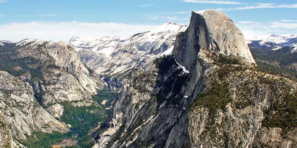 El Parque Yosemite se puede visitar desde San Francisco o Los Angeles.