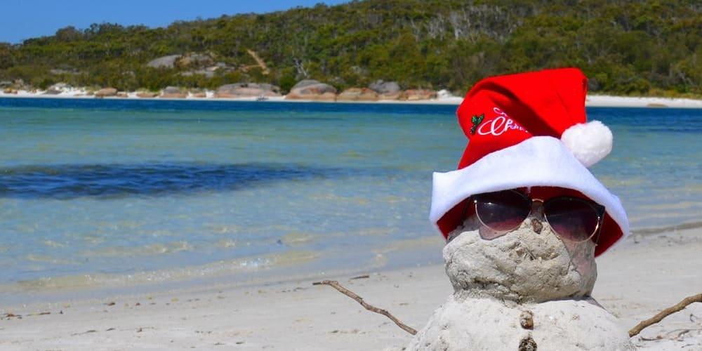 Playa en diciembre riviera maya. Tiempo, temperatura y clima.