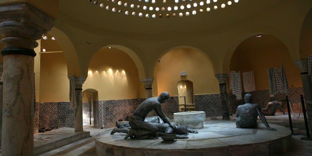 Imagen de un baño turco