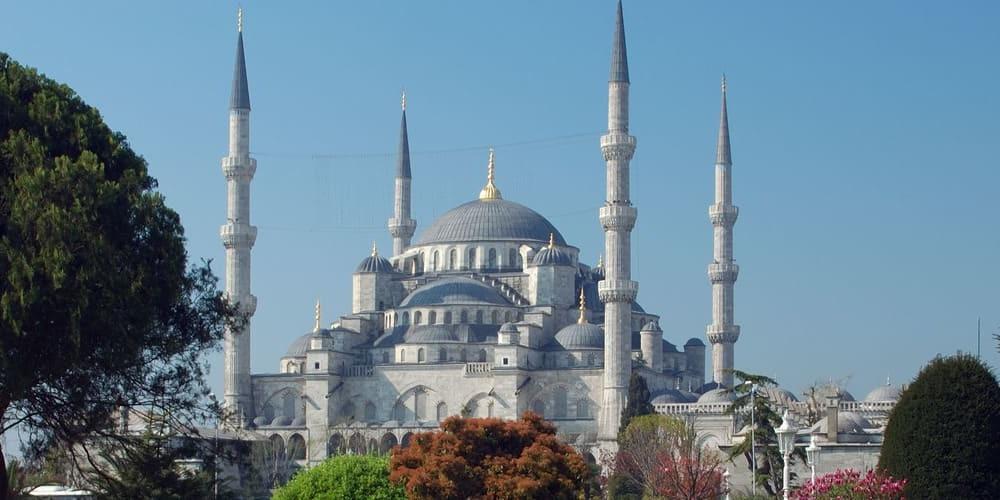 Exterior de la Mezquita Azul
