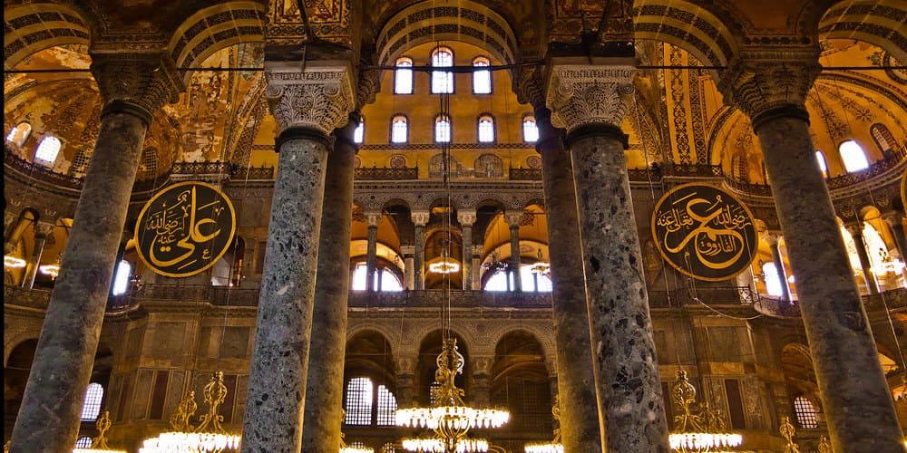 Santa Sofia es una de los monumentos que ver en Estambul