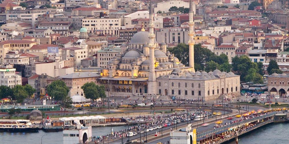 Vista de Santa Sofía de Estambul
