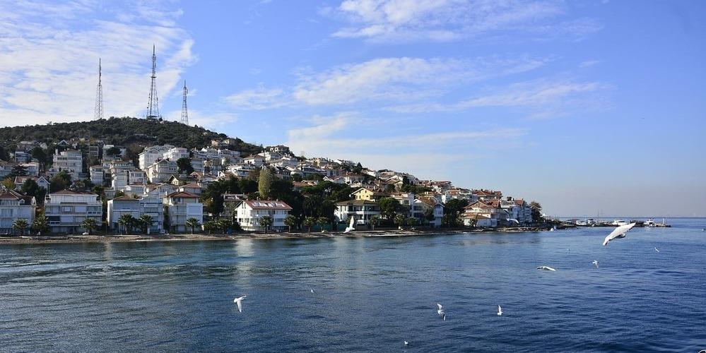 Vistas desde la excursión que hacer en Estambul