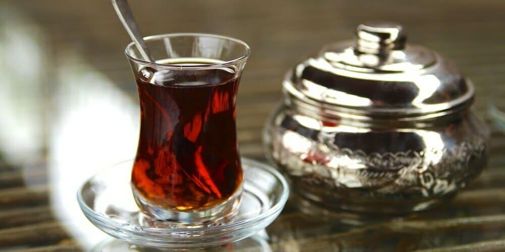 Té tradicional en Estambul