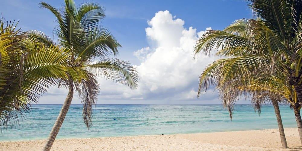 El tiempo en septiembre en la Riviera Maya. Cancún.