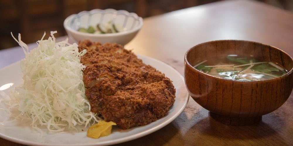Uno de los platos más típicos de Tokio, el Tonkatsu