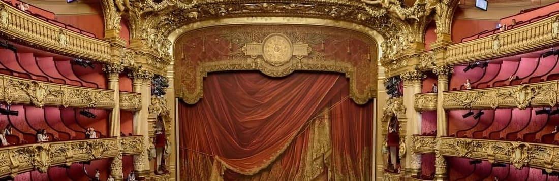 Ópera Garnier en París