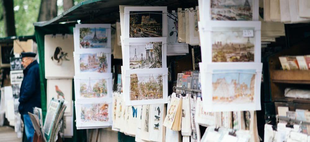 Plaza de Tertre, artistas callejeros