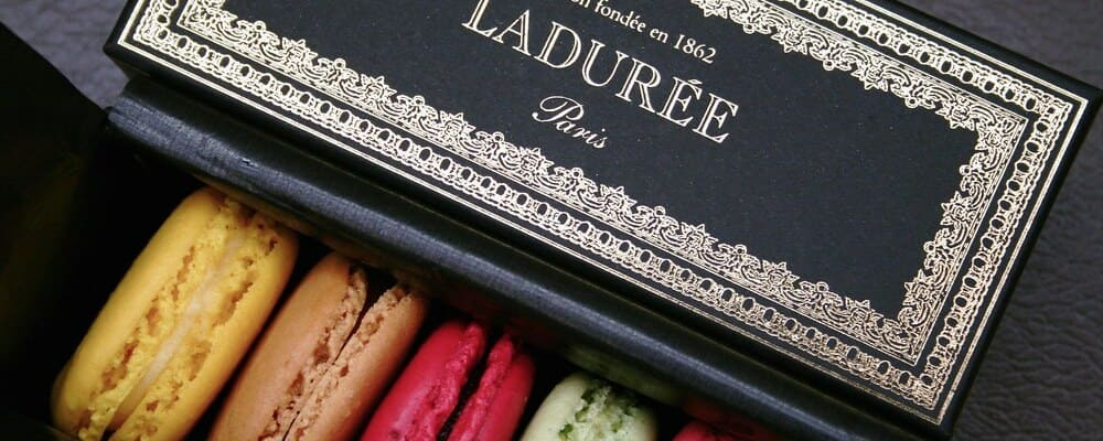 Pastelería Ladurée en París