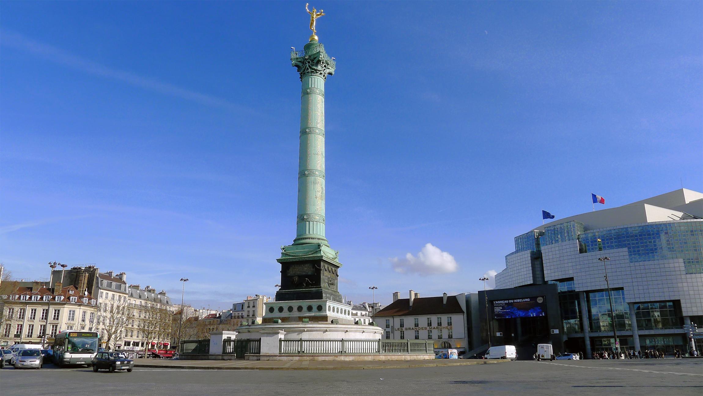Plaza de la Bastilla, París