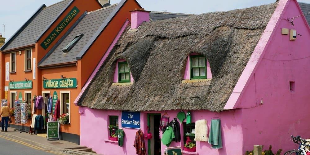 Casas típicas de Doolin