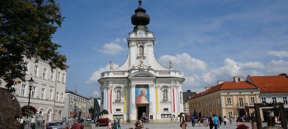 Basílica de la Bienaventurada VirgenMaría en Wadowice