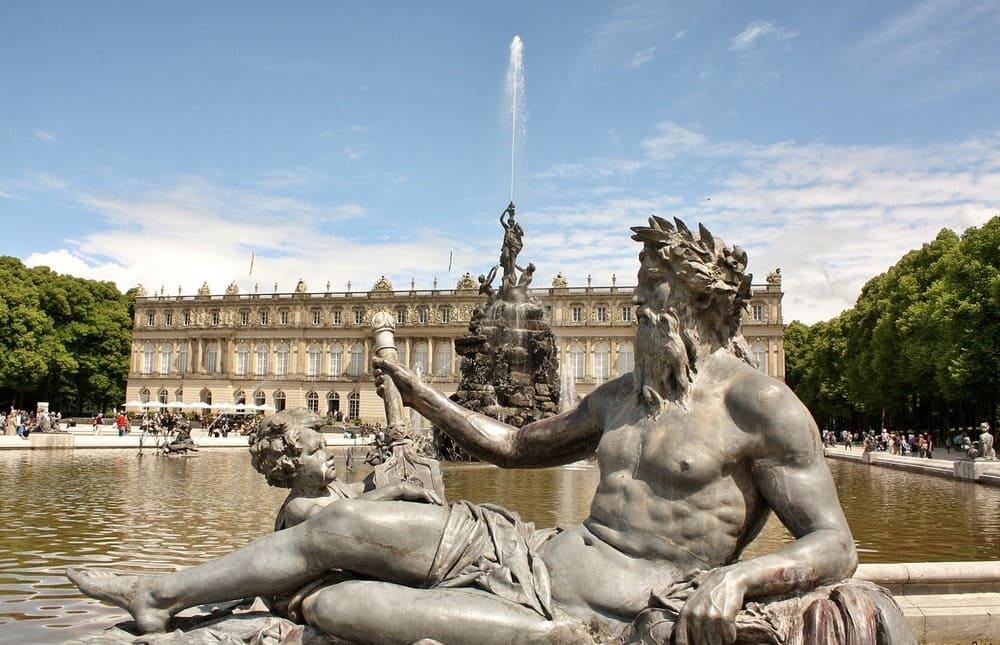 Jardines del Palacio de Herrenchiemsee