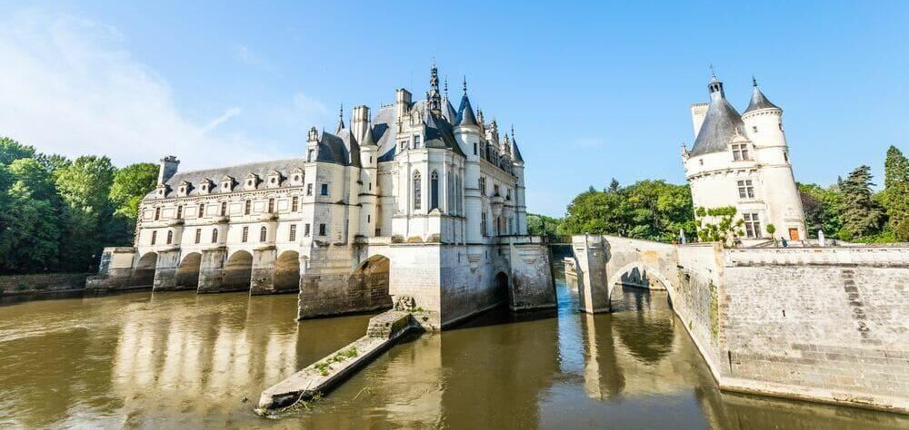 Castillo de Chenonceau, Valle del Loira.