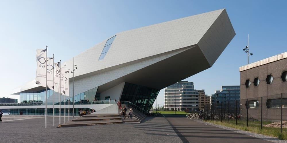 Eye Filmmuseum (museo del cine) en Ámsterdam