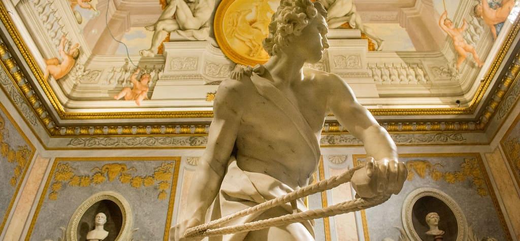 Estatua de la Galería Borghese