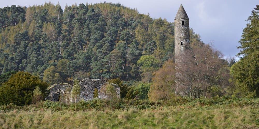 Monasterio de Glendalough, una excursión cercana a Dublín