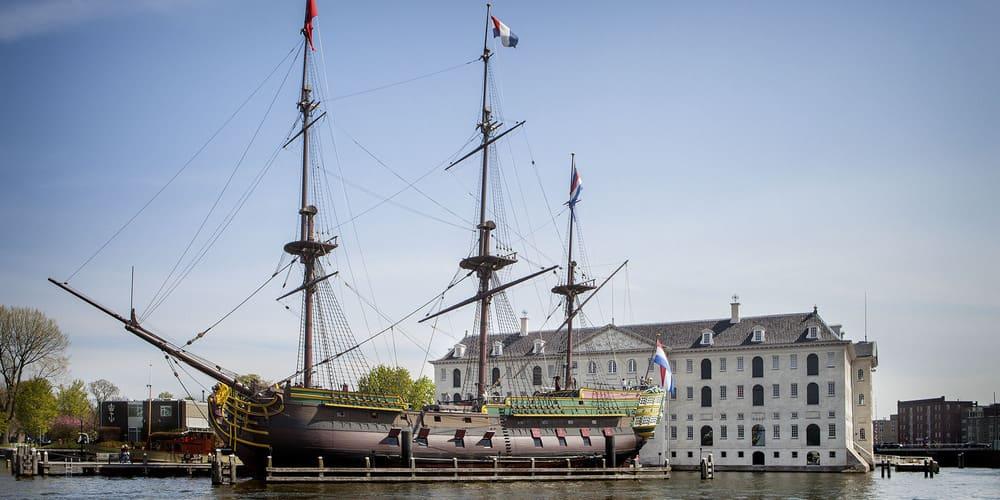 Museo Marítimo Nacional de Ámsterdam (Het Scheepvaartmuseum)