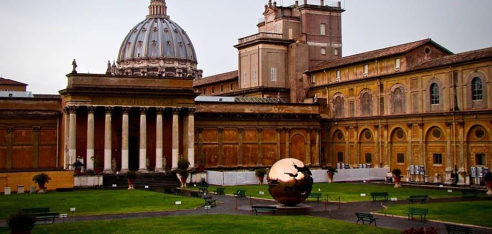 Vista de los Jardines y Museos Vaticanos