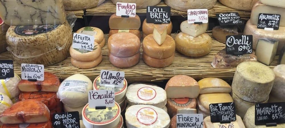 Degustación de quesos en París