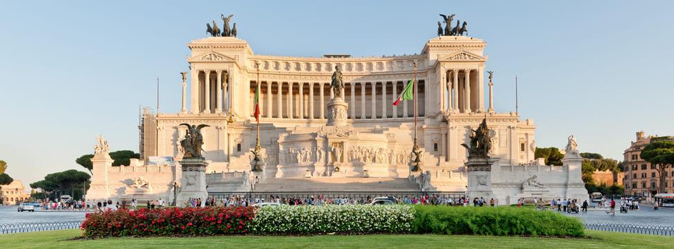 Monumento a Vittorio Emanuele II en la Piazza Venezia