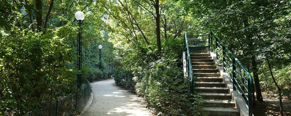 Paseo plantado por París