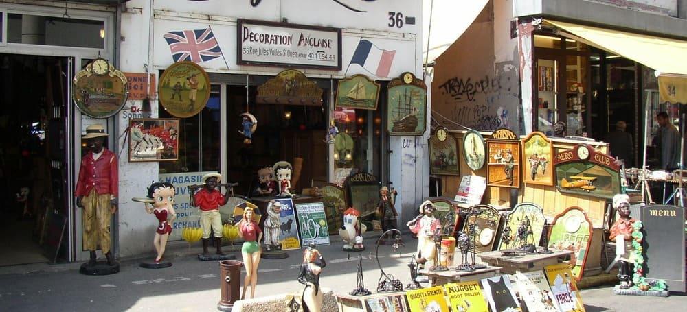 Mercado de las Pulgas en París