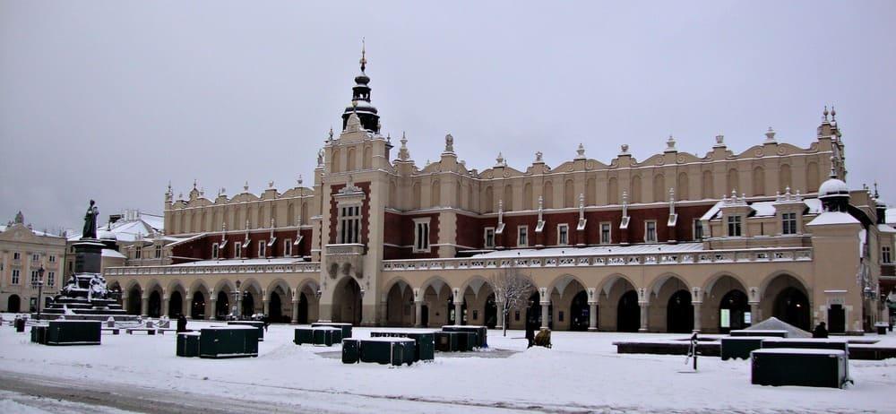Lakenhalle Sukiennic Cracovia