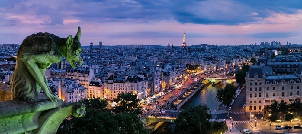 Gargola de la catedral de Notre Dame