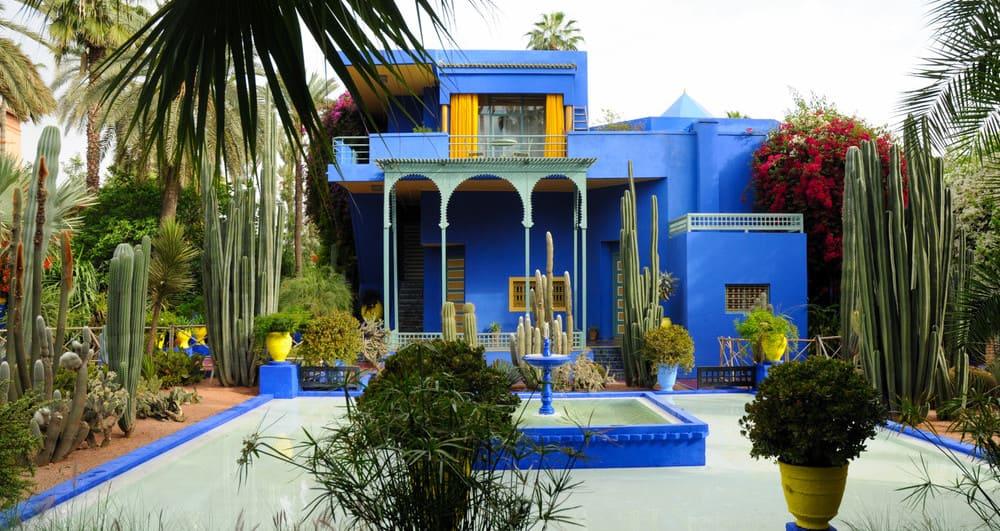 Visitar los jardines de Majorelle en Marrakech