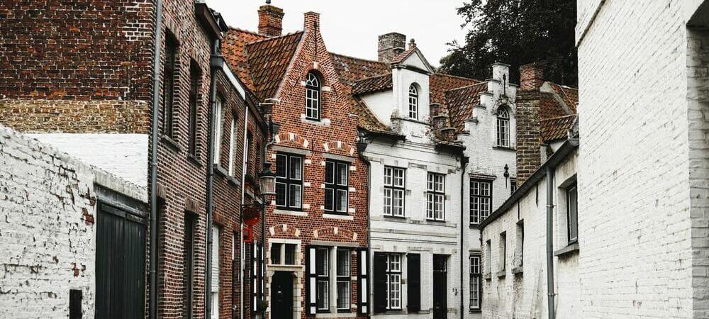 Calle de la ciudad de Brujas