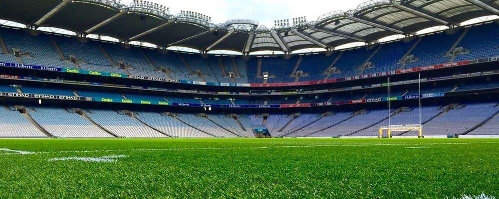 Imagen del campo del estadio Croke Park.