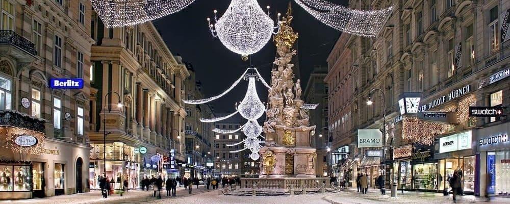 Haz una escapada a Viena estas navidades.
