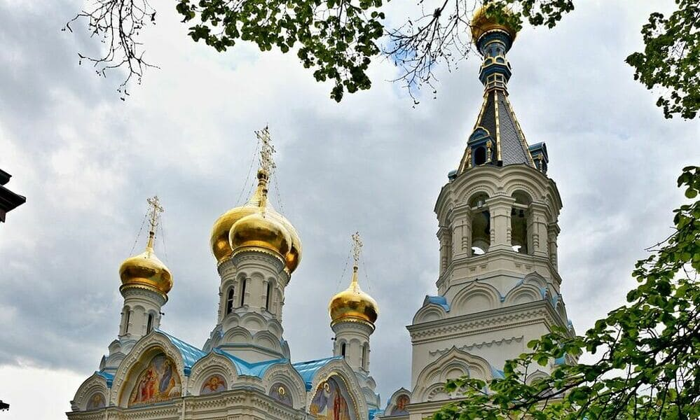 Iglesia de San Pedro y San Pablo en Karlovy Vary