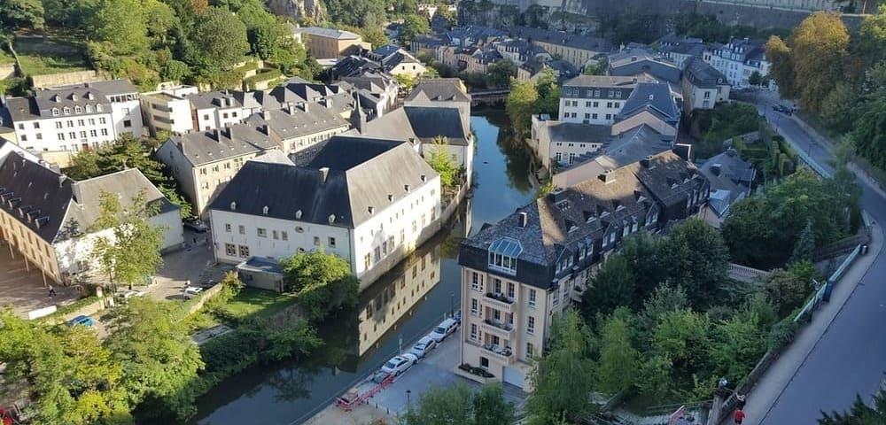 Luxemburgo desde Bélgica