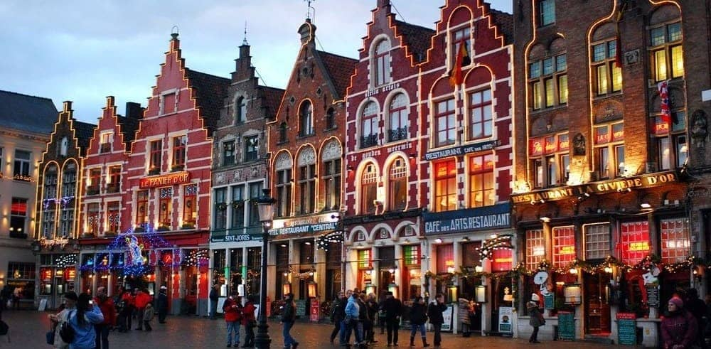 Navidad en Brujas (Bélgica)