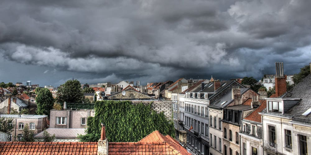 Temperatura en diciembre en Bruselas