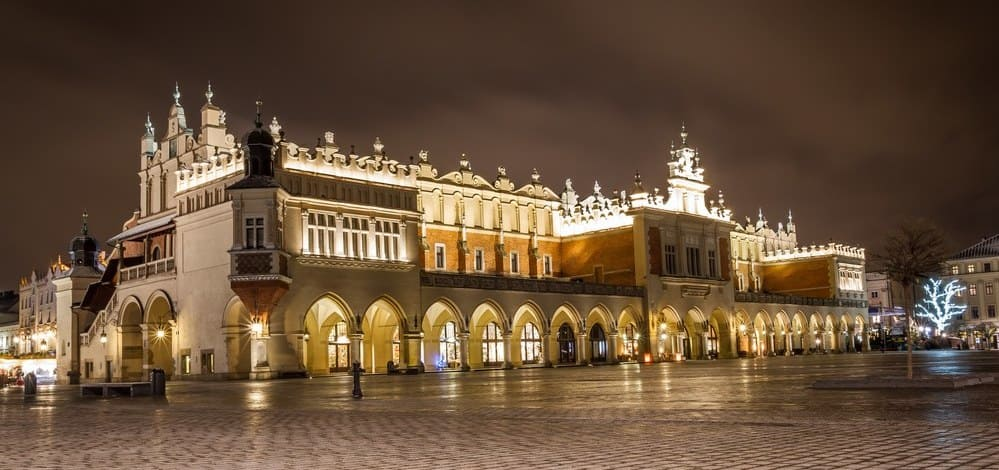 Plaza del Mercado Cracovia