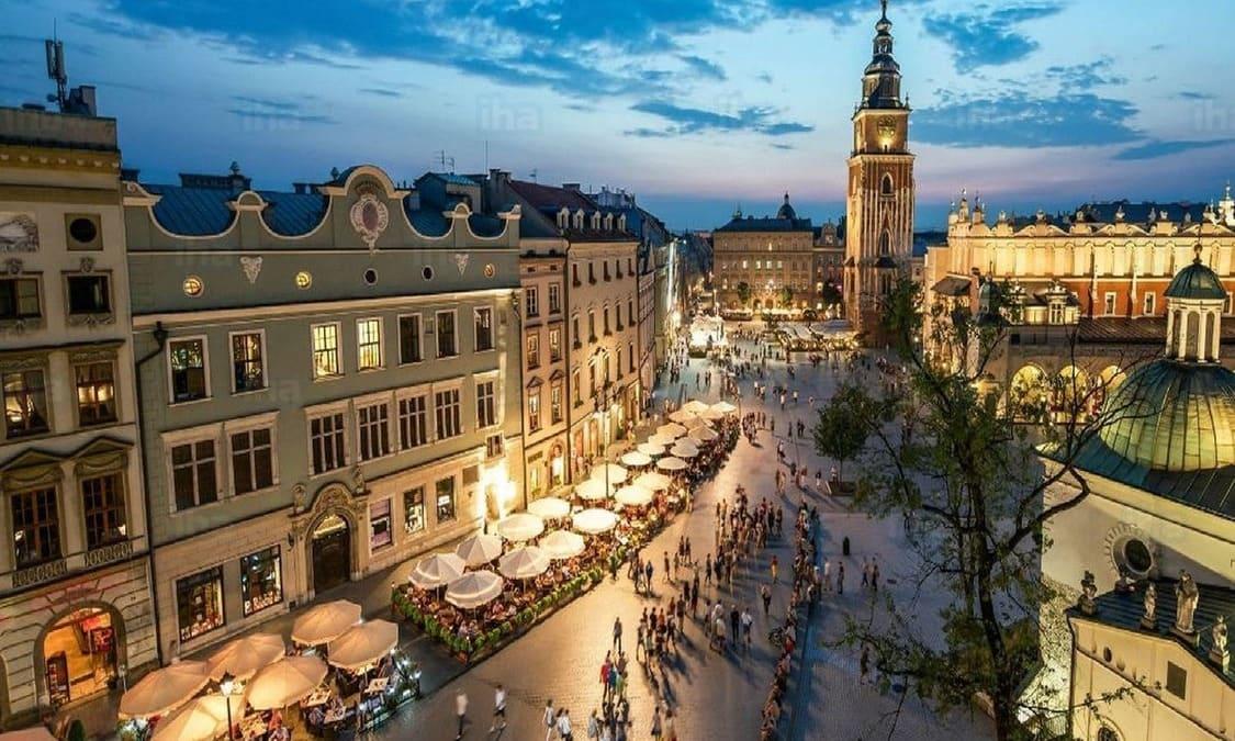 Tiempo, clima y temperatura en Cracovia en octubre