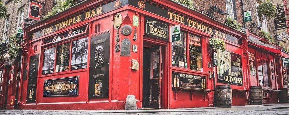 Fachada del pub The Temple Bar.
