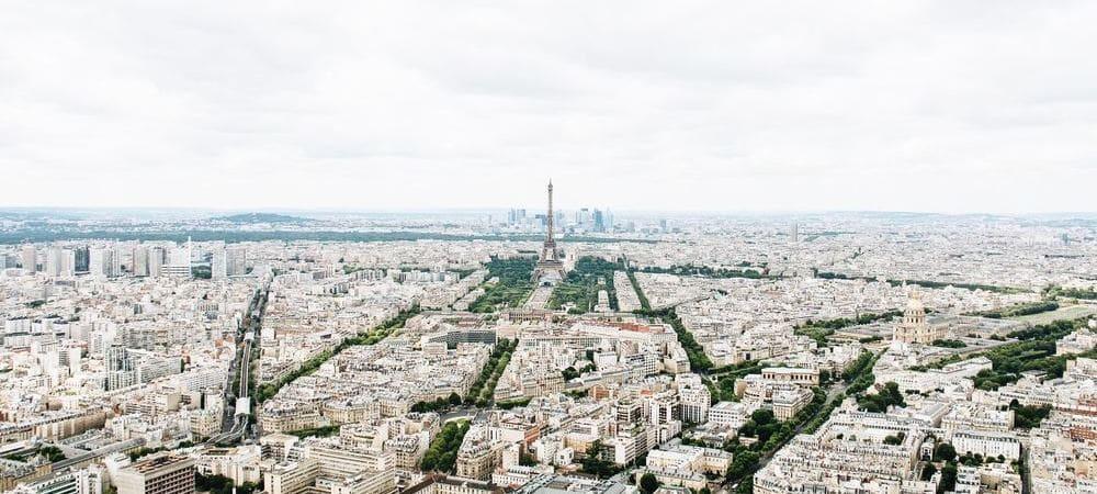 Vista panorámica de París
