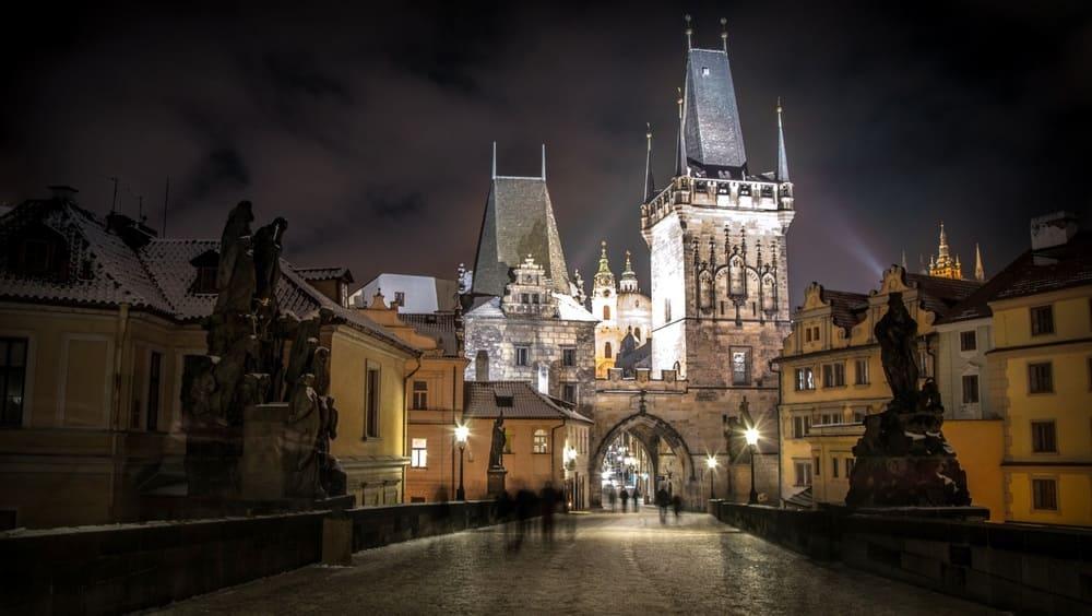 Tiempo, Clima y Temperatura en Praga en Diciembre