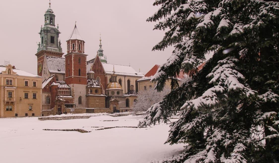 Tiempo, clima y temperatura en Cracovia en diciembre
