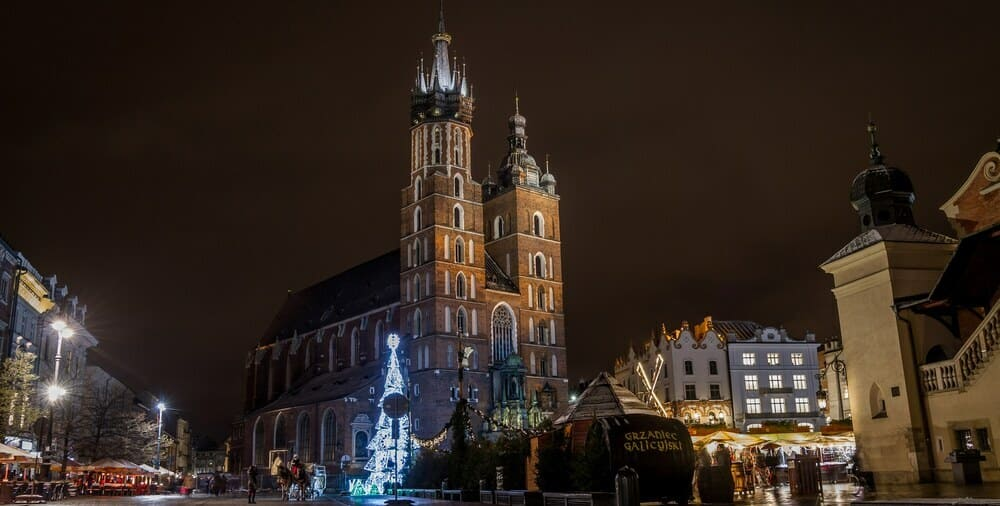Basílica de Santa María Cracovia