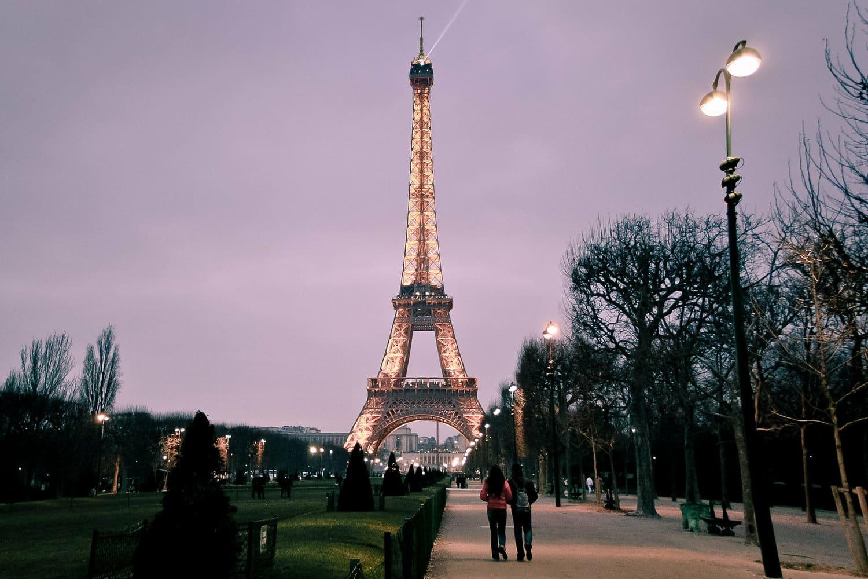 Tiempo, clima y temperatura de París en diciembre