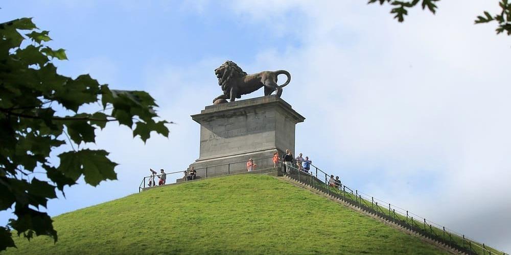 La Colina del León en Waterloo