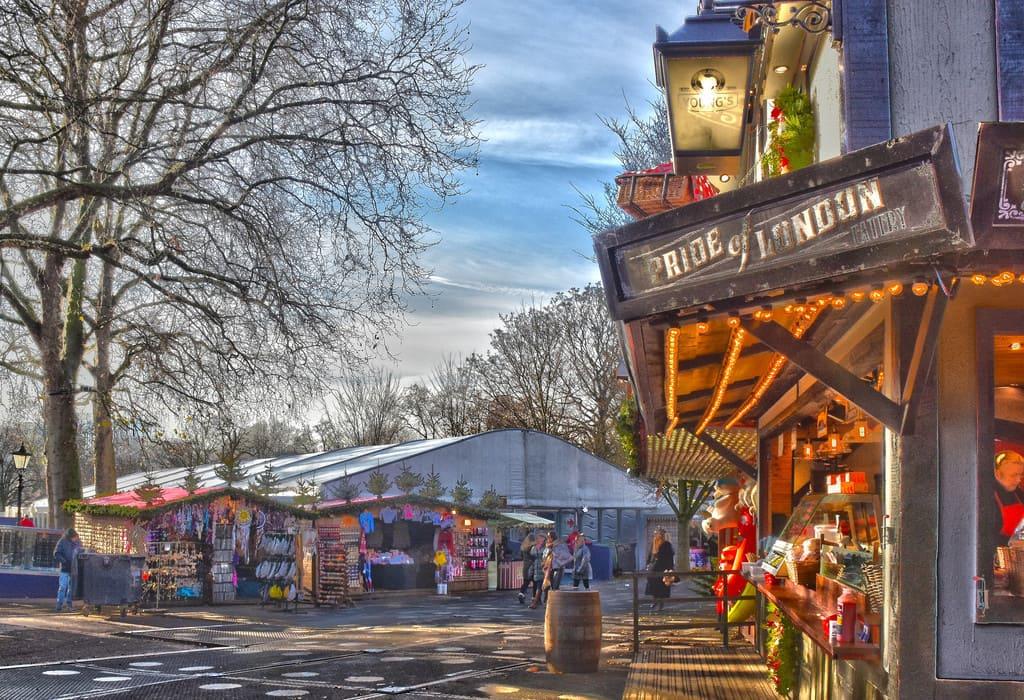 Pasa navidad en Winter Wonderland en Hyde Park