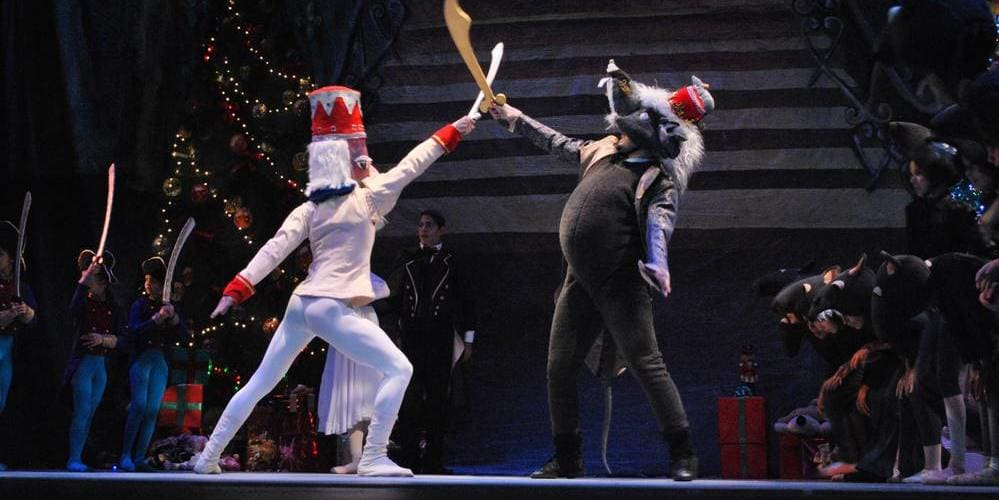 """Ballet de """"El Cascanueces"""" de Tchaikovsky. Disfruta de esta interpretación en el Palacio Danubio."""