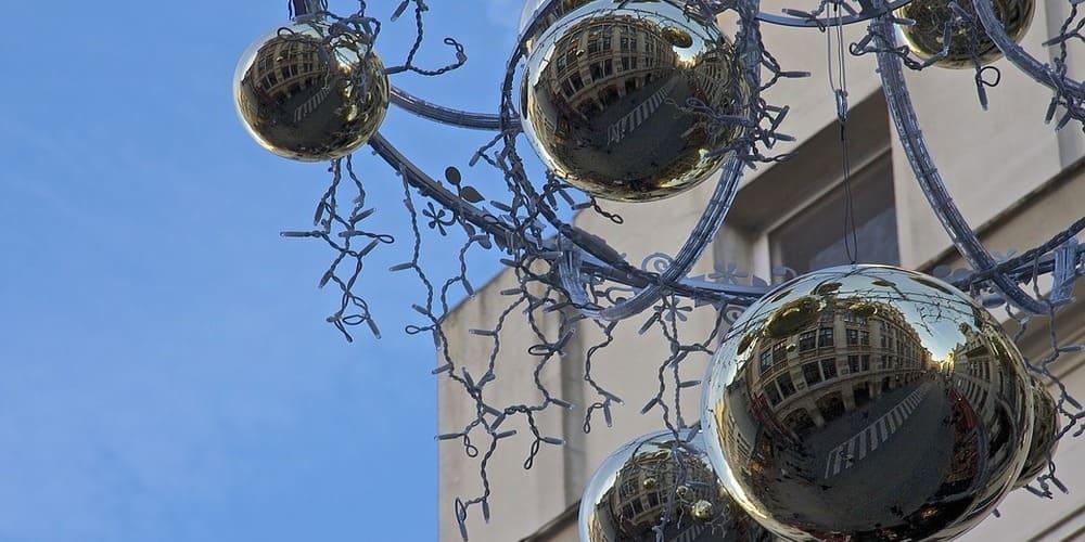 Época navideña en Bruselas