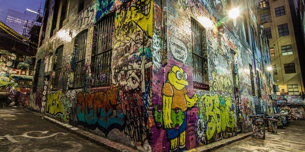 Hosier Lane, arte callejero